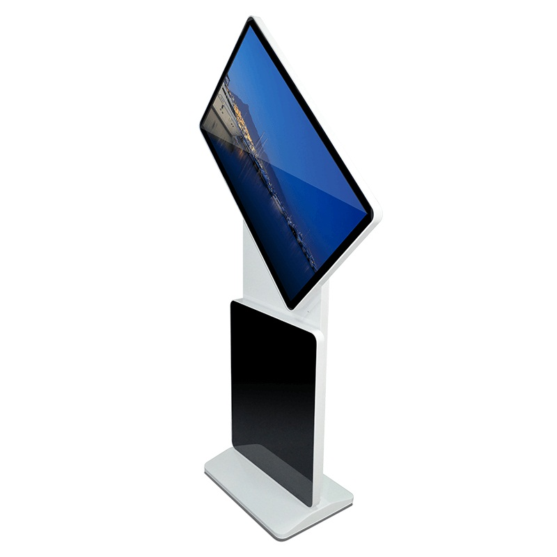 Rotating LCD advertising machine
